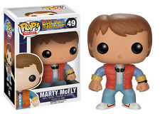 Funko Pop Movies Back To The Future Marty Vinyl Action Figure Collectible Toy