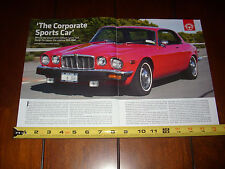 1975 JAGUAR XJ6C - ORIGINAL ARTICLE
