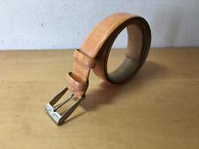 Used - Belt ETRO Cinturón - 101 x 3,5 cm - Orange color Naranja - Size 85  Usado