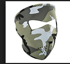 Zanheadgear Adult Neoprene Bike Full Face Mask | Urban Camouflage (WNFM202)