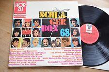 SCHLAGERBOX 68 The Lords Manuela Gitte Drafi Adamo etc.  LP HÖRZU SHZT 561