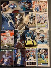(106) North Carolina Tar Heels Football Card Lot! Trubisky- Taylor- Peppers