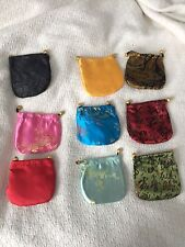 12 CHINESE CLASSIC HANDMADE Silk BROCADE GIFT JEWELRY BAG POUCH shipped from USA