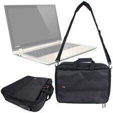 Mallette / sac noir pour TOSHIBA Satellite c55-c / l50-c / p50t-c / c40-c / p5-c ordinateur portable