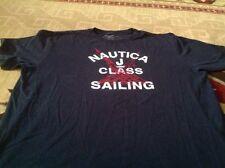 Nautica T Shirt size XXXL Navy Tee Shirt J Class sailing Short Sleeve
