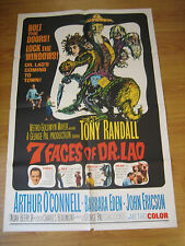 Seven Faces of Dr. Lao Orig, 1sh Movie Poster '64 great art of Tony Randall's