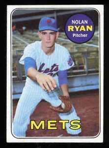 1969 Topps #533 Nolan Ryan Mets VG