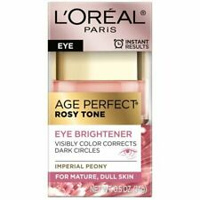 Loreal Age Perfect Rosy Tone Eye Brightener Dark Circles 0.5 oz. NEW