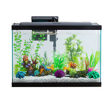 Aqua Culture Aquarium Starter Kit Fish Tank With Natural Sunlight LED, 20-Gallon