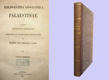 Bibliographia Geographica Palaestinae - 1867