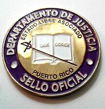 DEPARTAMENTO JUSTICIA Homenaje EMPLEADO PUBLICO Puerto Rico 2015 Justice Dept