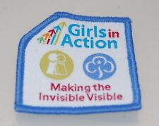 Girl Guides Girls In Action Making The Invisible Visible