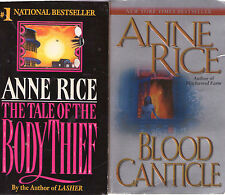 Complete Set Series - Lot of 14 Vampire Chronicles and Tales Books by Anne Rice