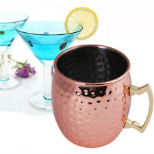 500ml Copper Plated Stainless Steel Moscow Mule Mug Tea Cup Beer Wine Coffee Mug