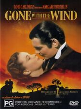 GONE with the WIND (Clark GABLE Vivien LEIGH Thomas MITCHELL) Classic DVD Reg 4