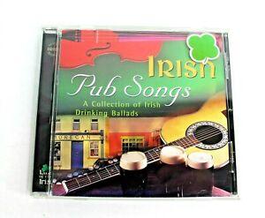 Irish Pub Songs A Collection Of Irish Drinking Ballads CD 2000 Various Artists