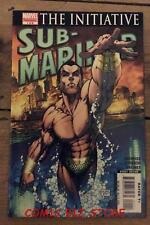 SUB-MARINER THE INITIATIVE #1 (2007) 1ST PRINTING MARVEL COMICS