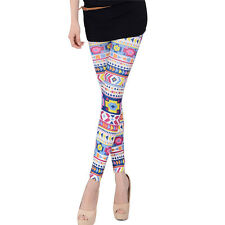 PunkJewelry Fashion Tattoo Leggings BUNTE Farbenwelt EINHEITSGRÖSSE