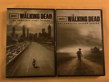 THE WALKING DEAD: THE COMPLETE FIRST AND SECOND SEASON DVDS, FACTORY SEALED