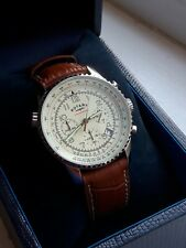 Rotary GS03447/08 mens Chronospeed chronograph watch with leather strap