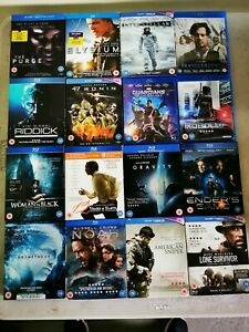 16 Blu-Ray Dvds All Ages