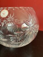 "Crystal Clear 24% Lead Crystal Poland 6.25"" X 8"" Bowl"