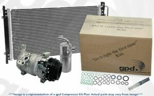 Global Parts Distributors 9744775A A/C Compressor
