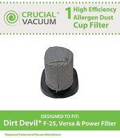 REPL Dirt Devil F25 Stick Vacuum Filter Part # 2SV1102000 3SV0980000