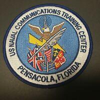 US NAVAL COMMUNICATIONS TRAINING CENTER PENSACOLA, FLORIDA PATCH