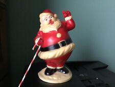 HYG Products  Santa.  1950's Hard Plastic Light Up