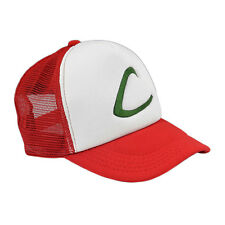2016 NEW Ash Ketchum Pokemon GO Cap Embroidery Trucker Hat Cosplay Costume