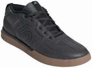 Five Ten Sleuth DLX Mid Flat Shoes | Grey Six/Core Black/Gum M2 | 10