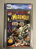 Werewolf By Night #32 CGC 4.5 Origin And 1st app of Moon Knight Marvel Comics
