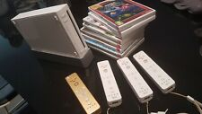 Pack: Wii + 4 Wiimote + 3 Nunchuck + 4 Wiiwheel + 8 juegos