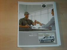 44001) Skoda Roomster Praktik Prospekt 07/2007