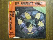LES SERPENTS NOIRS 45 TOURS BELGIQUE MIRAGE