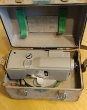 New listing Automatic Level Surveying Instrument With Steel Case Eugene Dietzgen Co #6180