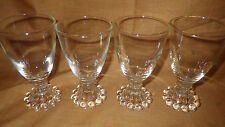 Vintage wine Juice Glass Boopie Candlewick Clear by Anchor Hocking-Crystal 4
