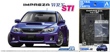 Subaru Impreza WRX STI GRB + Detail Up Parts 1:24 Model Kit Bausatz Aoshima