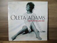 "Oleta Adams – I Just Had To Hear Your Voice   Vinyl 7"" Single UK 1993  OLETA6"