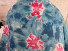 1 yd  printed fabric good weight 4 way spandex lycra USA J4731