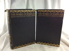 The Works of Rabelais 2 Vols. Limited Edition No 322 Dated 1927 Illus Frank Pape