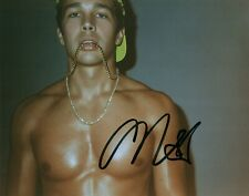 Austin Mahone Singer Shirtless Signed 8x10 Photo Autographed COA 8