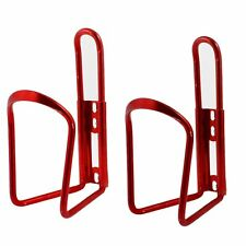 2 Pcs Tea Water Bottle Holder Bracket Red for Bike Bicycle LW