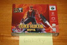 Duke Nukem 64 (N64 Nintendo 64) NEW SEALED V-SEAM, NEAR-MINT, RARE!