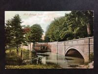 Vintage Postcard - Lincolnshire #22  - Louth, Mill Bridge - Valentine - 1908