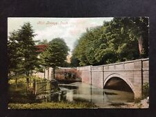 Vintage Postcard - Lincolnshire #22  - Louth, Mill Bridge - Valentine - 1908