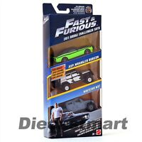 HOTWHEELS 1:55 FAST & FURIOUS DIECAST 3-PACK SET FORD FCG01-956A FORD SET C