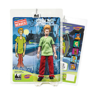Scooby Doo 8 Inch Retro Style Action Figures Series 1: Shaggy