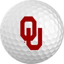 Oklahoma Sooners Titleist ProV1 Refinished NCAA Golf Balls 12 Pack